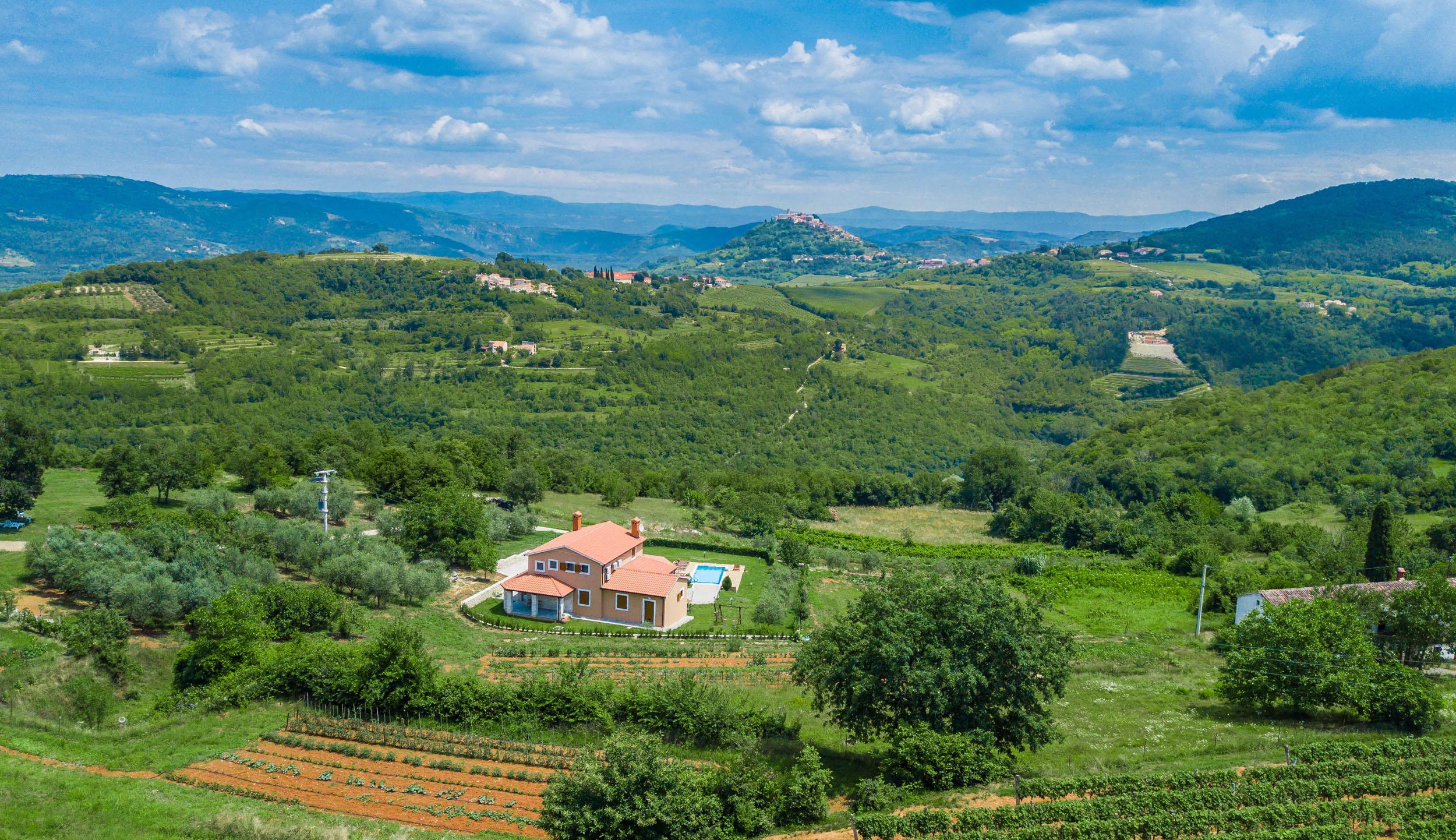 Land Haus Villa Motovun