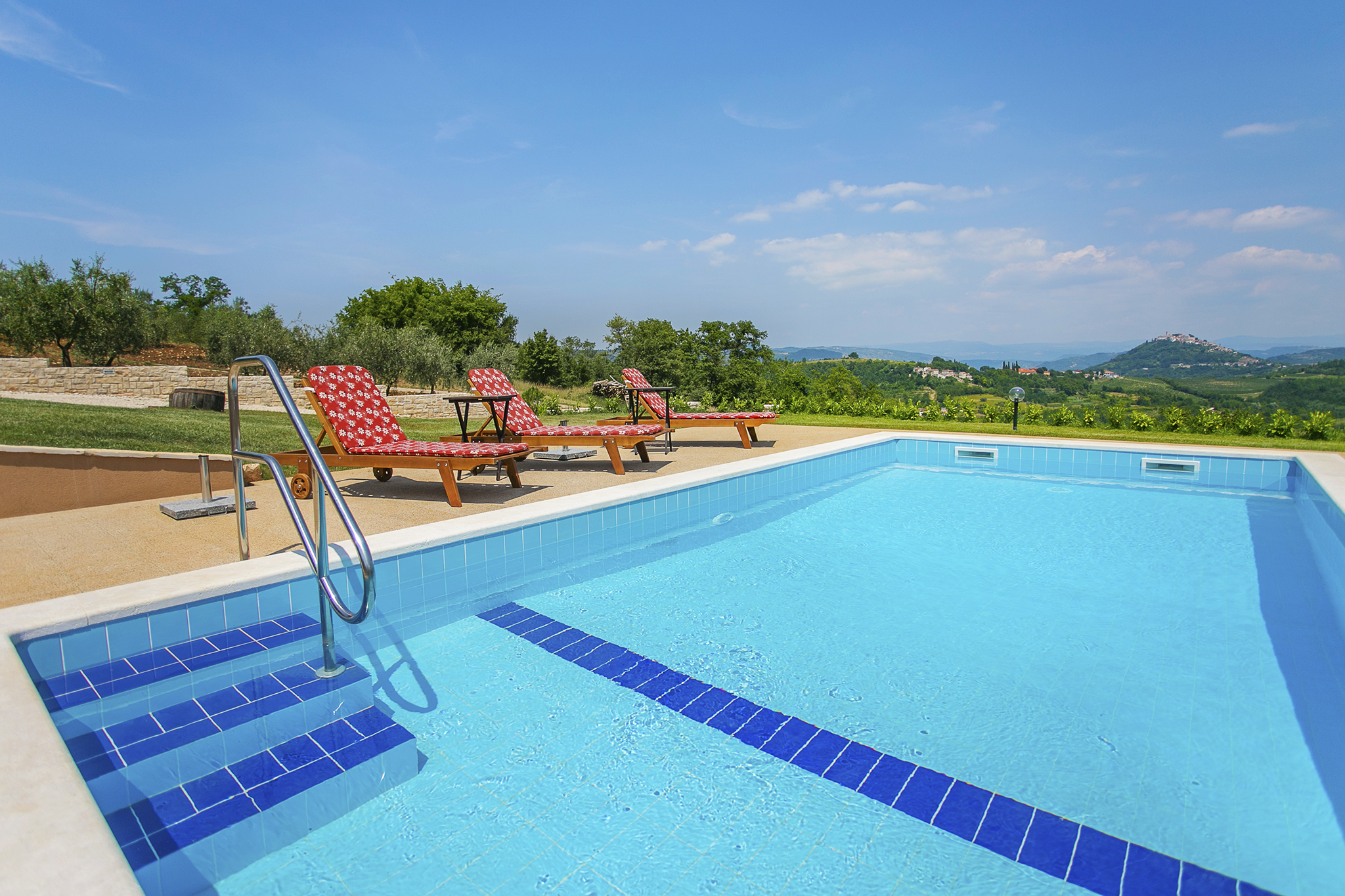 Villa with pool Istria Croatia Motovun Villa rental