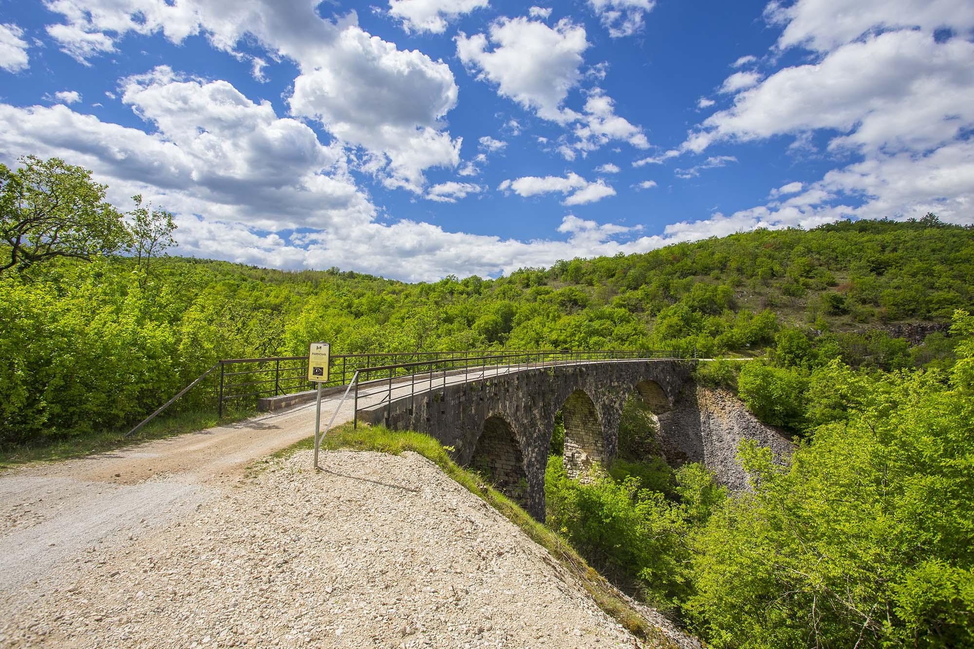 Der Radweg Parenzana