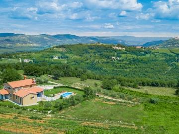 Villa mit schöner Aussicht Motovun